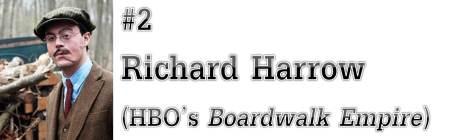 "#2: Richard Harrow (HBO's ""Boardwalk Empire"")"