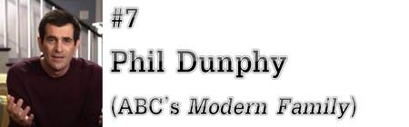 "#7: Phil Dunphy (ABC's ""Modern Family"")"