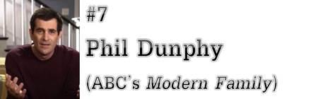 "#7: Phil Dunphy (ABC's ""Modern Family"")"